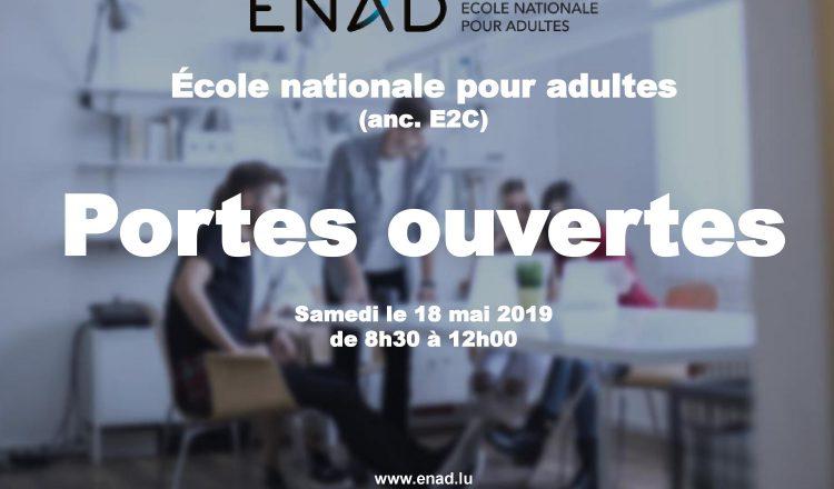 Portes ouvertes à l'Ecole nationale pour adultes