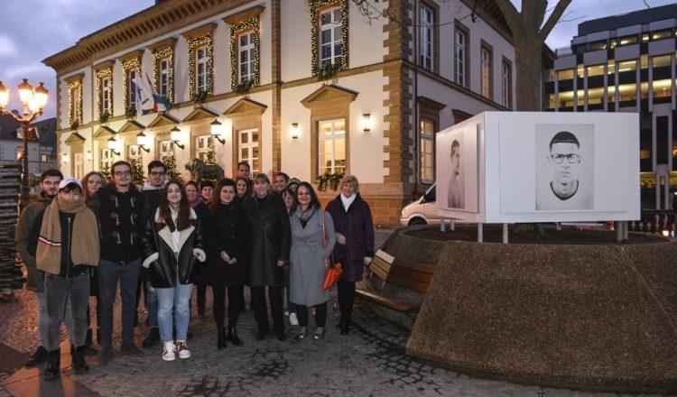 Vernissage de l'exposition TRANSITIONS à la mairie de Luxembourg-Ville