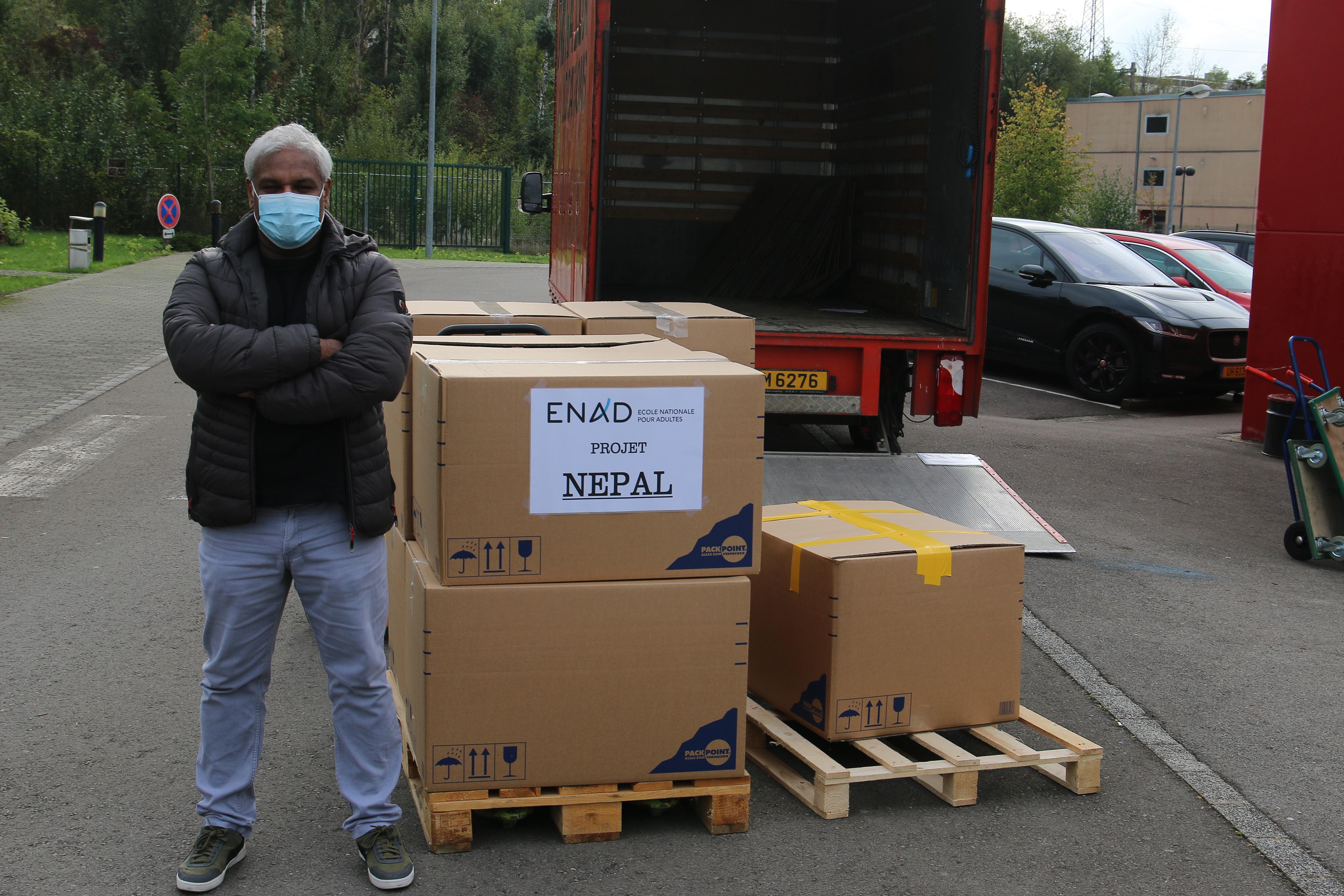 L'ENAD collabore avec AEIN pour aider des écoles au Népal